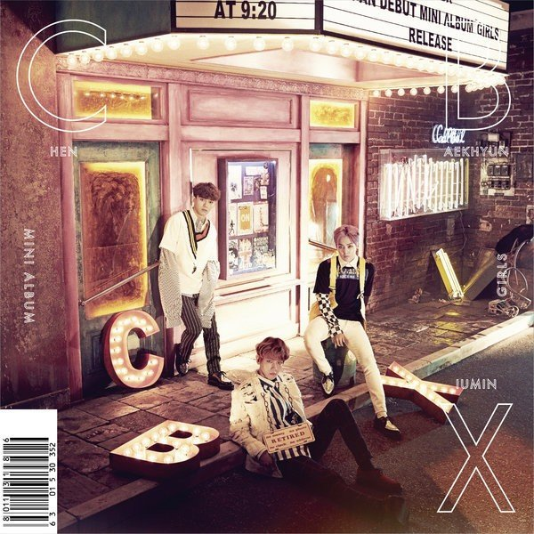 Mini album GIRLS by EXO-CBX