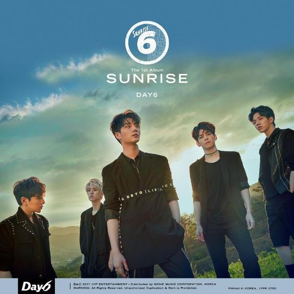 Album Sunrise by DAY6