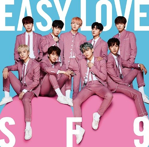 Single Easy Love (Japanese) by SF9