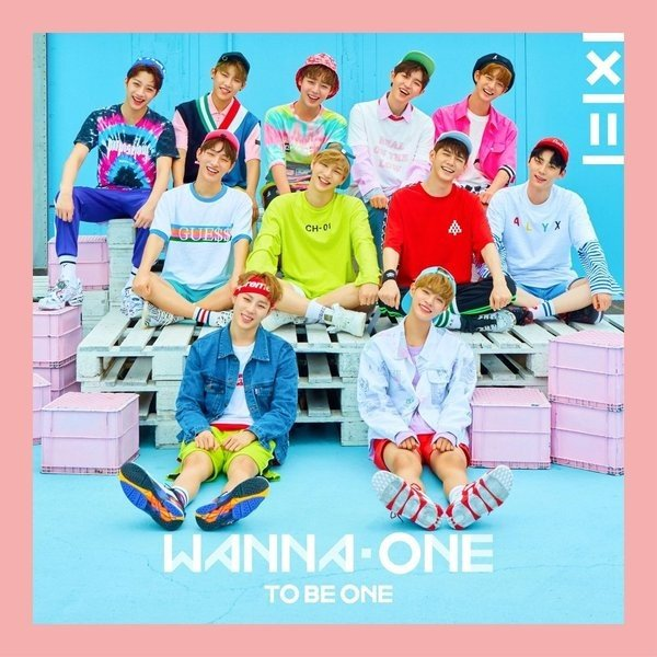 Mini album 1X1=1 (To Be One) by Wanna One