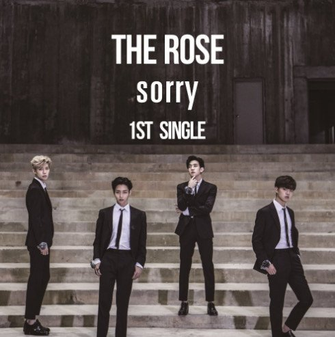 Single The Rose 1st Single 'Sorry' by The Rose