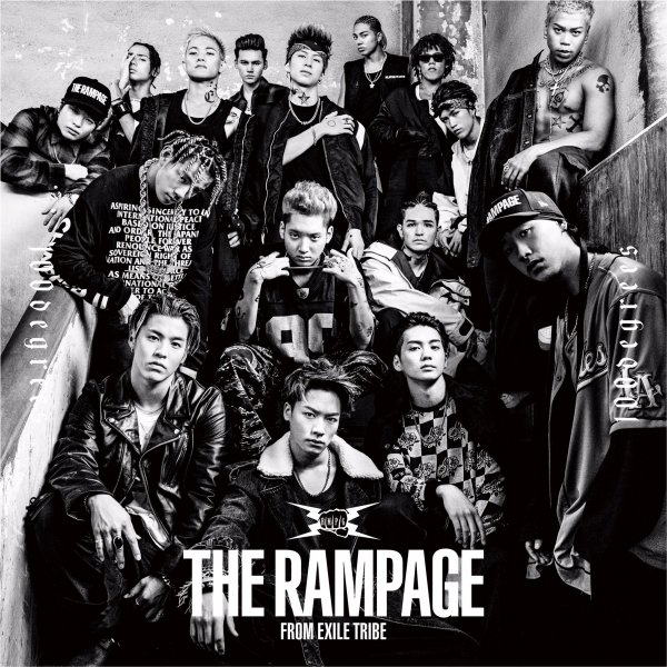 Single 100degrees by THE RAMPAGE