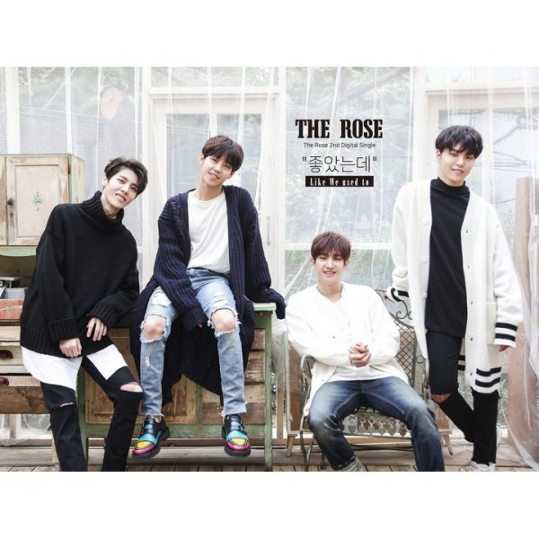 Single The Rose 2nd Single '좋았는데' by The Rose