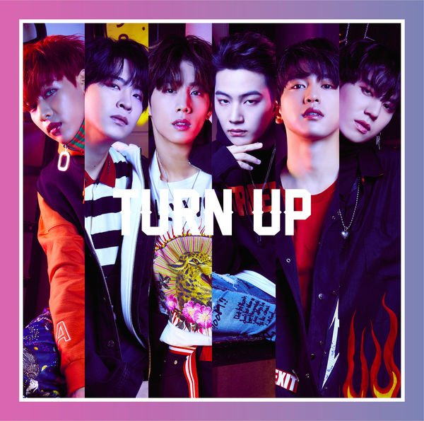 Mini album Turn Up (Japanese) by GOT7