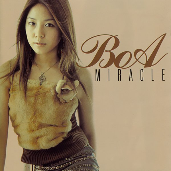 Mini album Miracle by BoA
