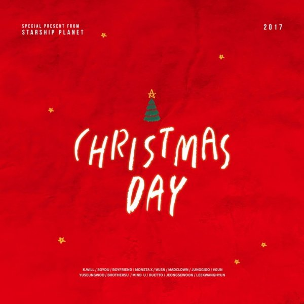 Single Christmas Day (크리스마스 데이) by Starship Planet