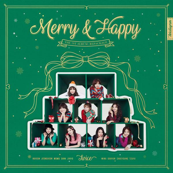 Album Merry & Happy (Repackage) by TWICE