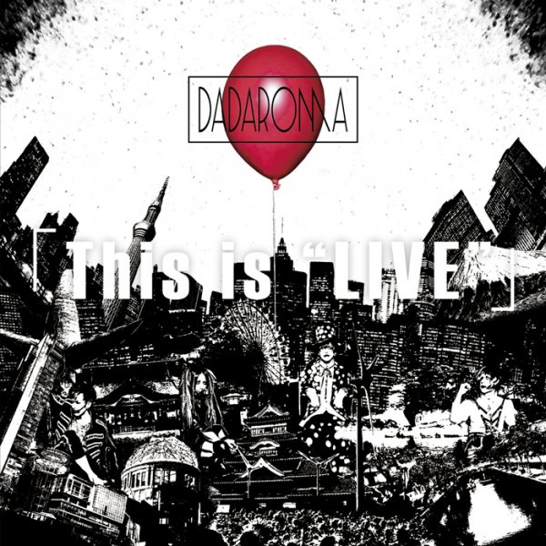 "Mini album This is ""LIVE"" by DADAROMA"