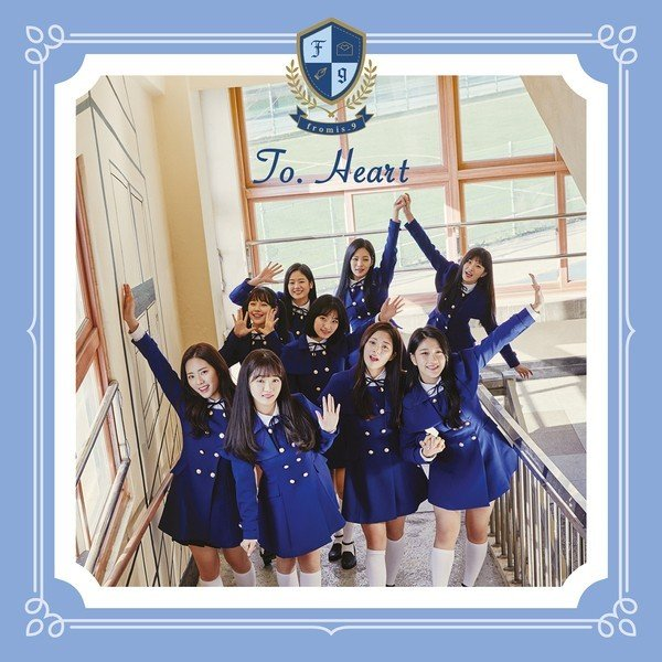 Mini album To. Heart by fromis_9