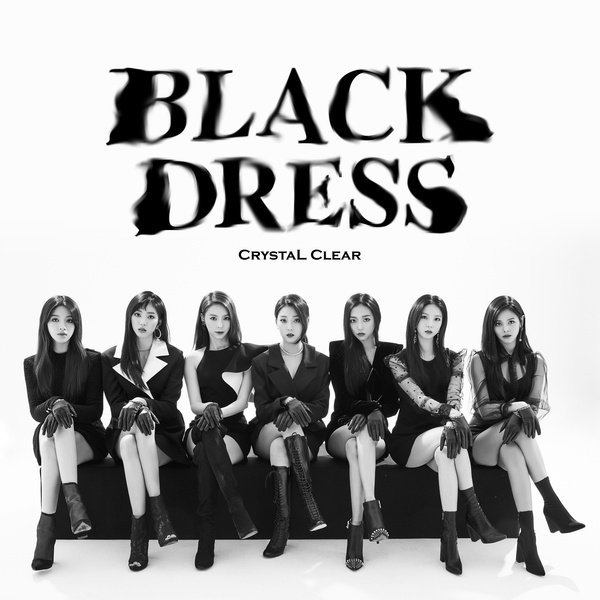 Mini album BLACK DRESS by CLC