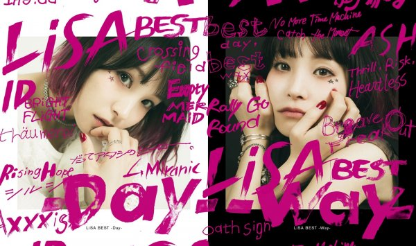 Album LiSA BEST -Day-/-Way- by LiSA