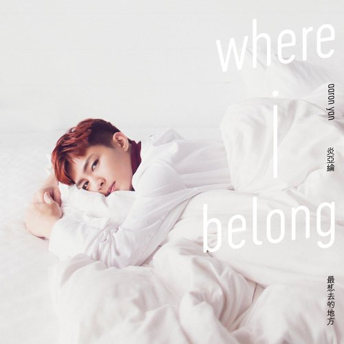 Single Where I belong by Aaron Yan