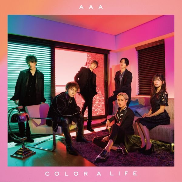 Album COLOR A LIFE by AAA