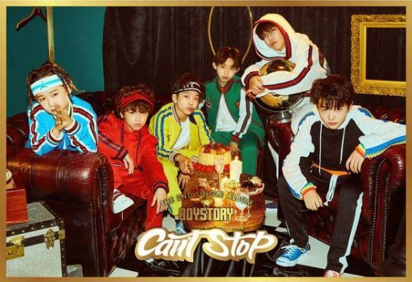 Single Can't Stop by BOYSTORY