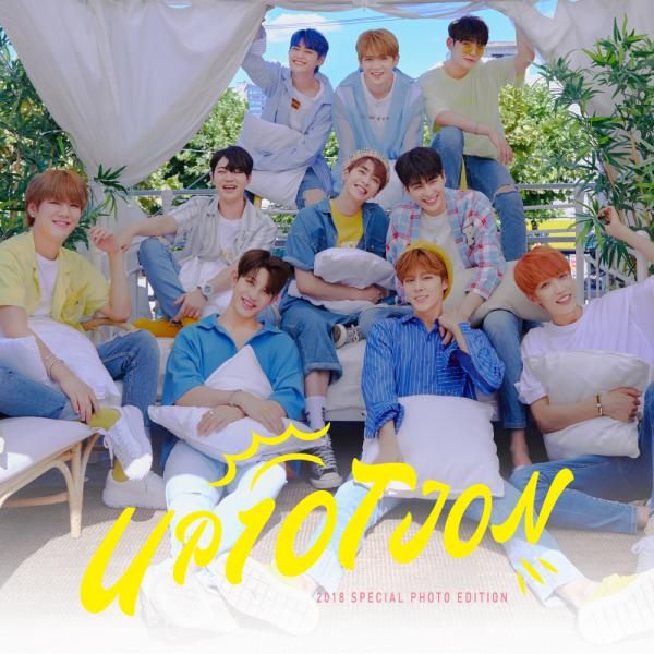 Mini album UP10TION 2018 Special Photo Edition by UP10TION