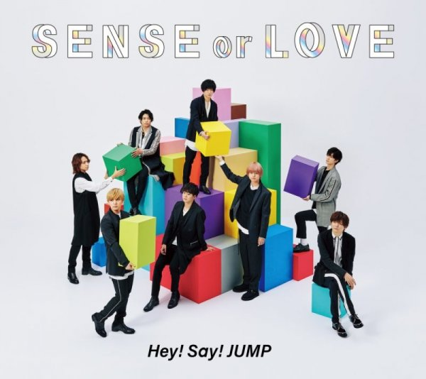 Album SENSE or LOVE by Hey! Say! JUMP