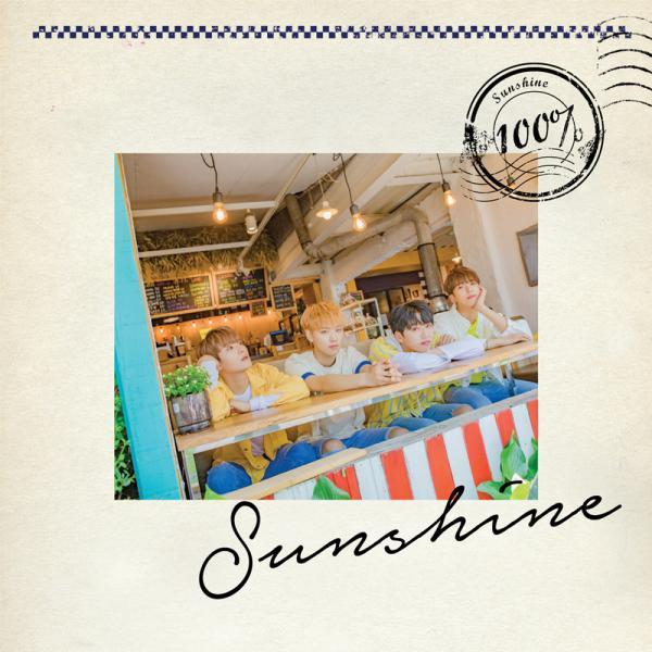 Mini album Sunshine by 100%
