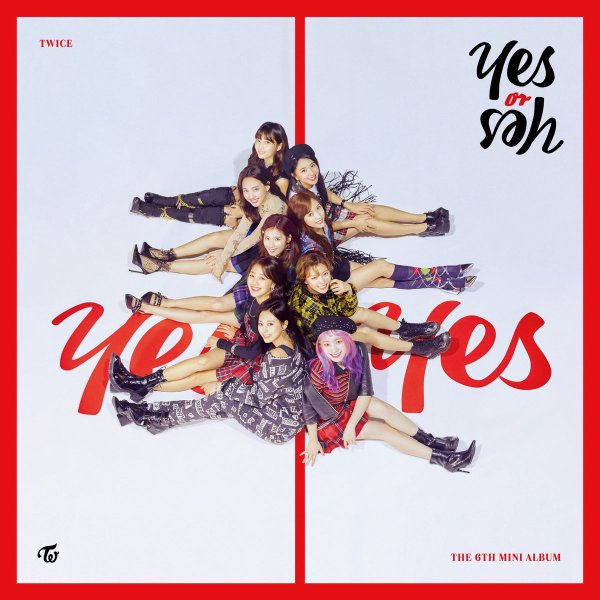 Mini album YES or YES by TWICE