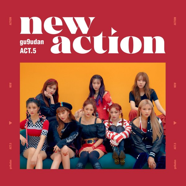 Mini album Act.5 New Action by Gugudan