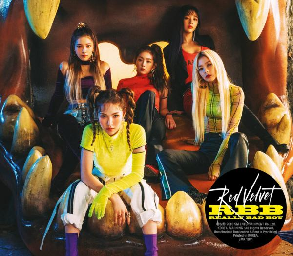Mini album RBB (Really Bad Boy) by Red Velvet