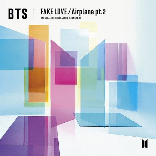 Single FAKE LOVE / Airplane pt.2 by BTS