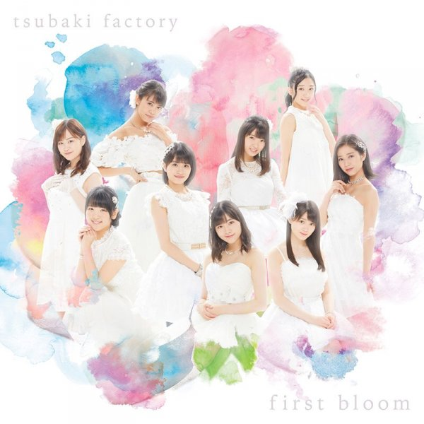 Album first bloom by Tsubaki Factory