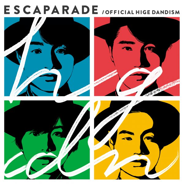 Album Escaparade by Official HIGE DANdism