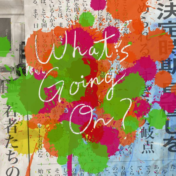 Mini album What's Going On? by Official HIGE DANdism