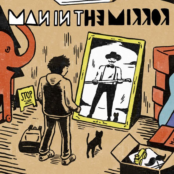 Mini album Man in the Mirror by Official HIGE DANdism