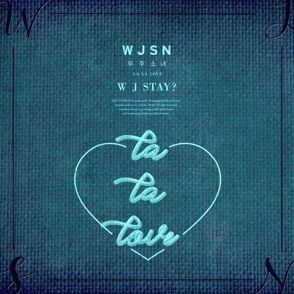 Mini album WJ Stay? by Cosmic Girls