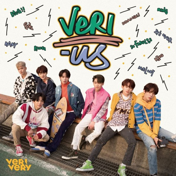 Mini album Very-Us by VERIVERY