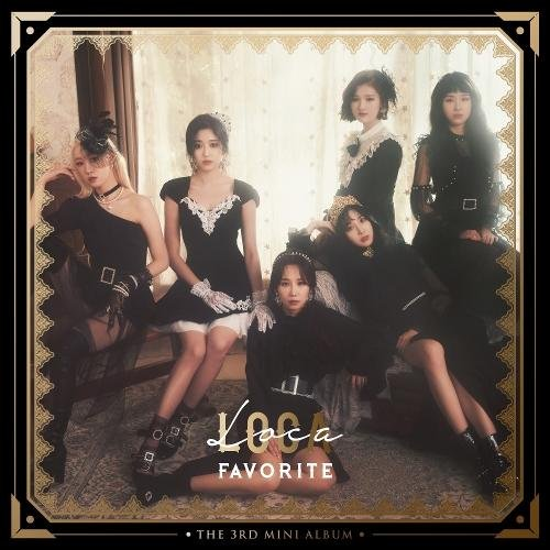 Mini album Loca by Favorite