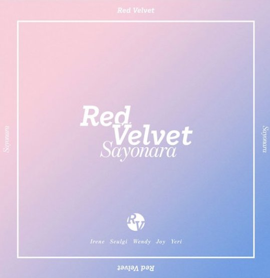 Single Sayonara by Red Velvet