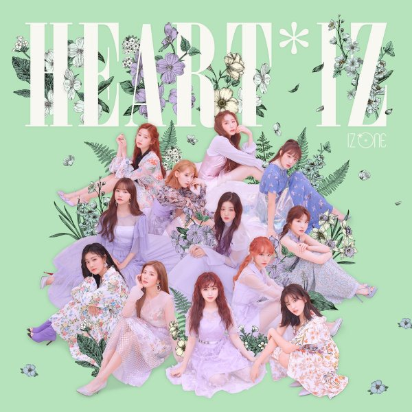 Mini album HEART*IZ by IZ*ONE
