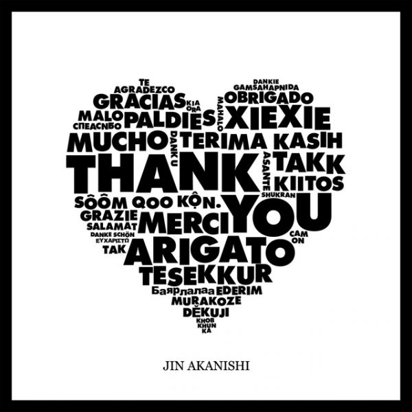 THANK YOU by Jin Akanishi