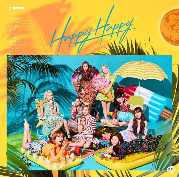 Single HAPPY HAPPY by TWICE