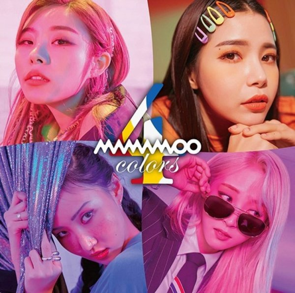 Album 4colors by MAMAMOO