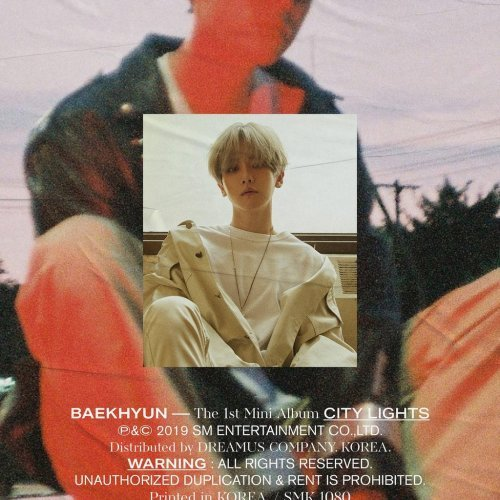 Mini album City Lights by Baekhyun