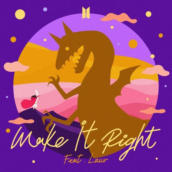 Single Make It Right by BTS