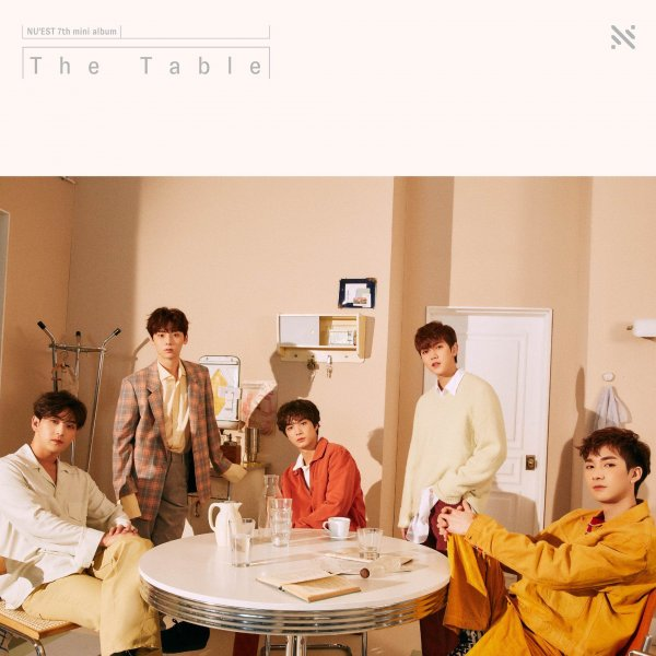 Mini album The Table by NU'EST