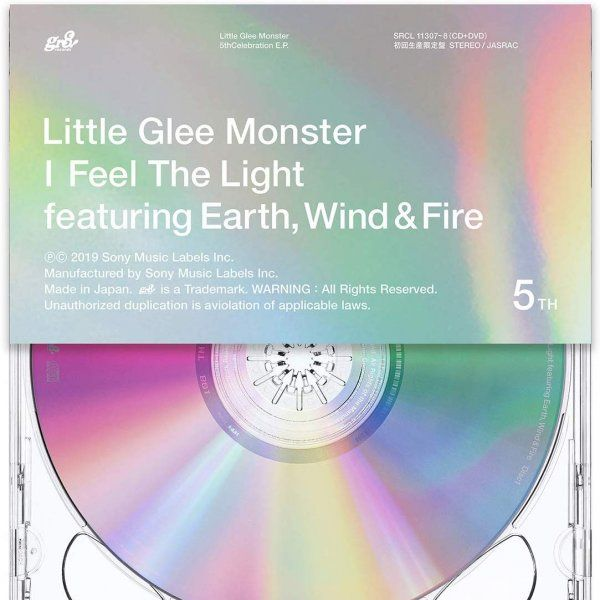 Mini album I Feel the Light by Little Glee Monster