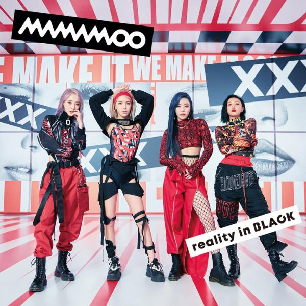 Album reality in BLACK -Japanese Edition- by MAMAMOO
