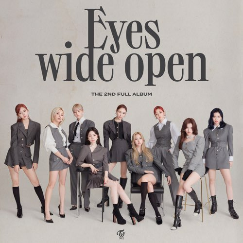 Album Eyes wide open by TWICE