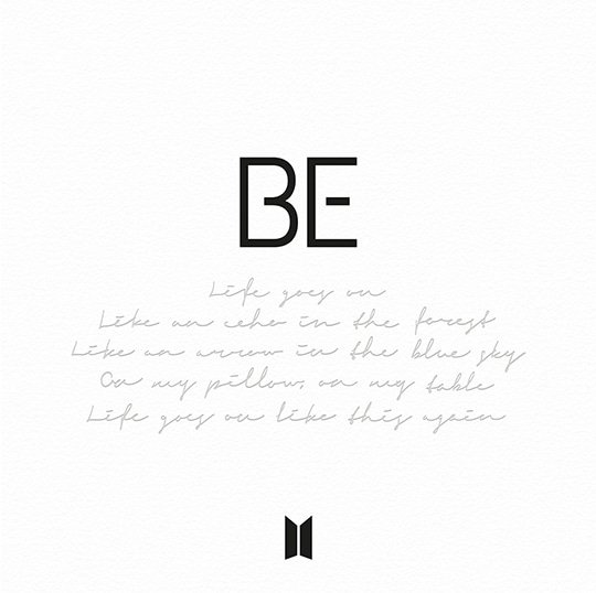 Album BE by BTS