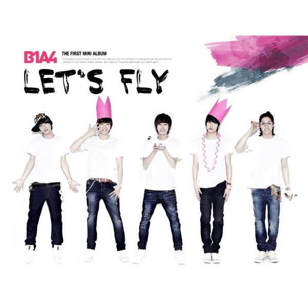 Mini album Let's Fly by B1A4