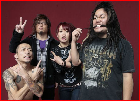 Maximum the Hormone's Europe Tour