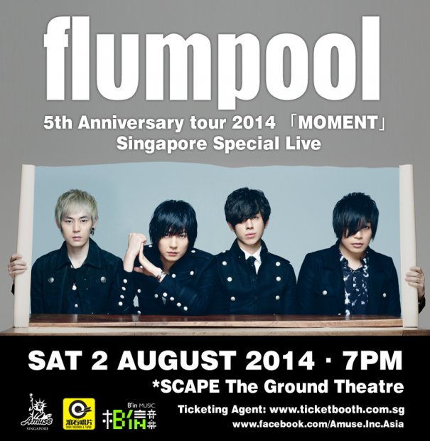 flumpool to Rock Out Again in Singapore this August
