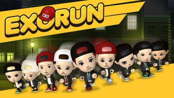 "EXO Unveiled Mobile Running Game ""EXORUN"""
