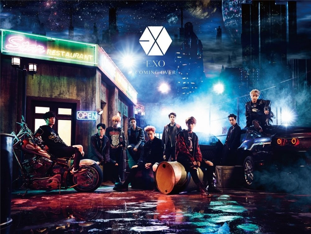 "[Jpop] EXO Revealed Jackets for Upcoming Original Japanese Lyrics 2nd Single ""Coming Over"""