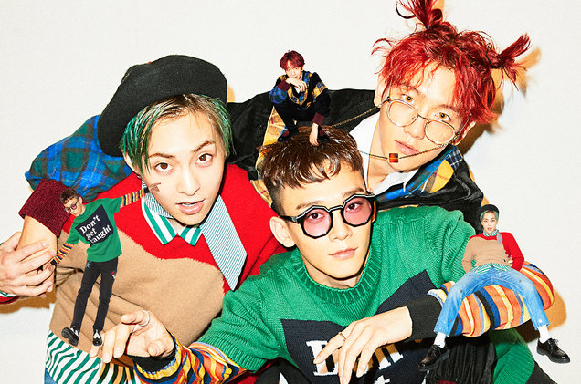 "EXO Sub-Unit EXO-CBX Topped Billboard World Albums Chart with Debut Record ""Hey Mama!"""
